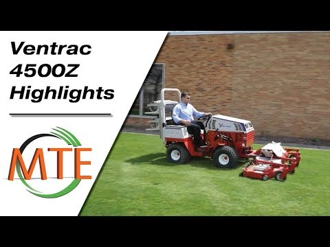 The Ventrac 4500Z: Warm Weather Highlights