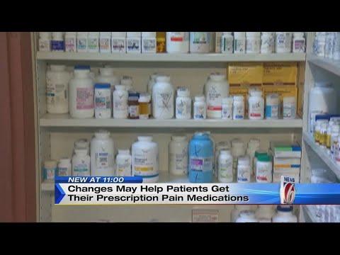 11pm Prescription Pain Medication Changes