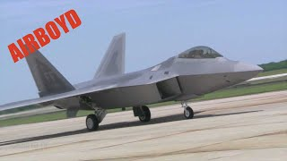 F-22 Raptor - Joint Base Andrews (2012)