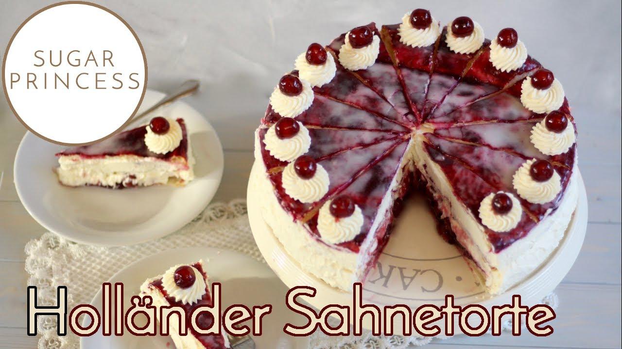 Holländer Sahnetorte/ Holländer Kirschtorte/ Blätterteigtorte | Rezept von Sugarprincess