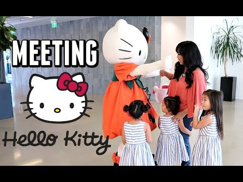 What it's Really Like Meeting HELLO KITTY! - October 27, 2017 -  ItsJudysLife Vlogs