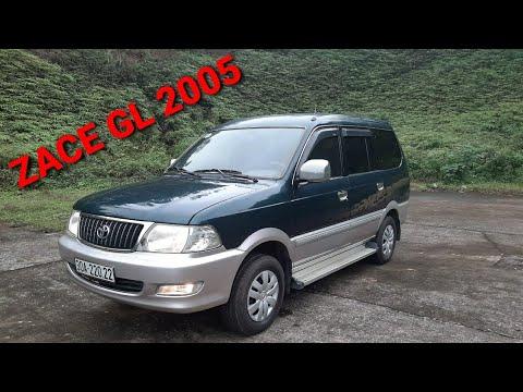 (Đã bán) Chào mừng Toyota Zace GL 2005 đẹp nhất nhì Hà Nội   Khuyến mại lớn mùa Covid