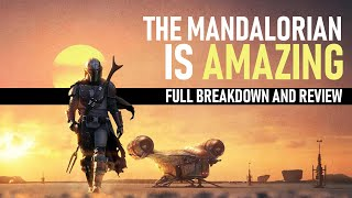 The Mandalorian is AMAZING! -- First Episode Review and Reaction | Star Wars
