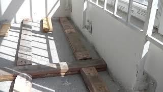 Ремонт балкона, предварительное планирование