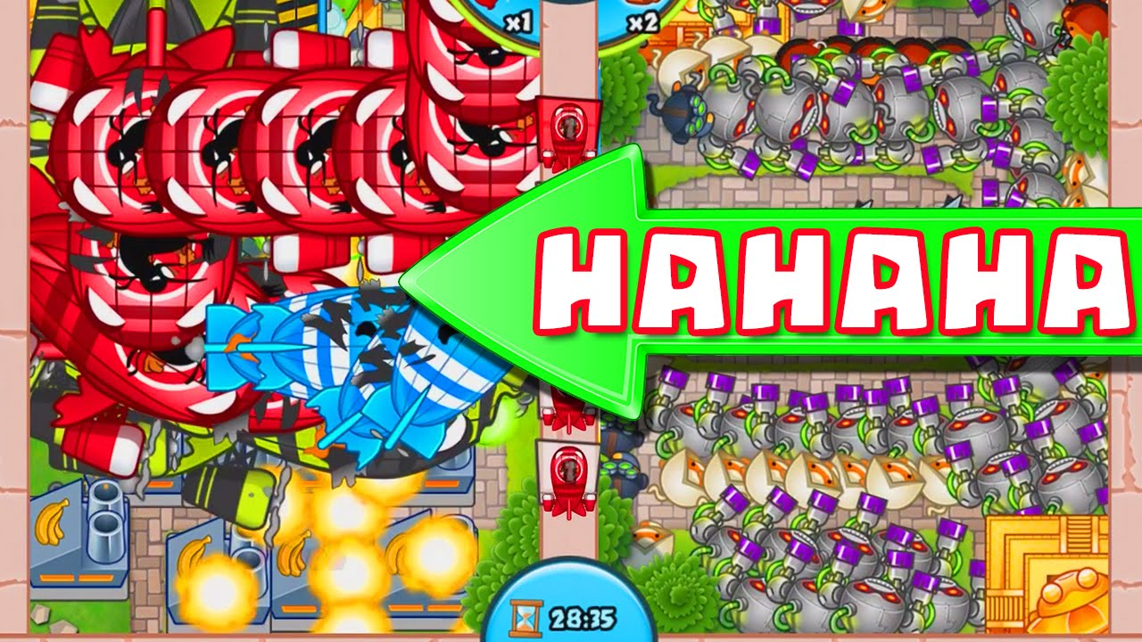 Bloons TD Battles :: NEW UPDATE LATE GAME :: 20,000 ECO ...