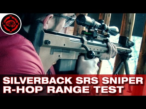 Silverback Airsoft SRS R-Hop & Tightbore Range Test