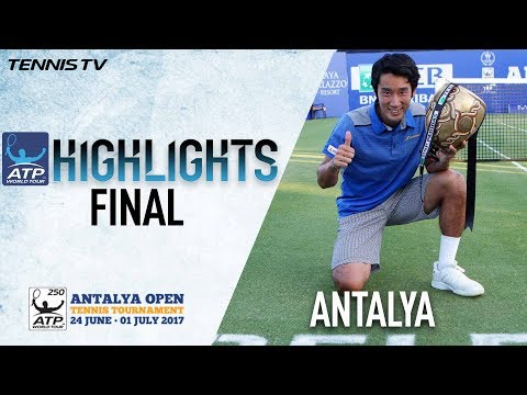 Highlights: Sugita Beats Mannarino For Maiden ATP Title In A