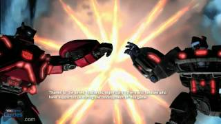 Transformers: Fall of Cybertron - Credits   WikiGameGuides