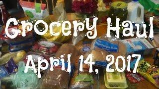 WALMART & KROGER GROCERY HAUL | APRIL 14, 2017
