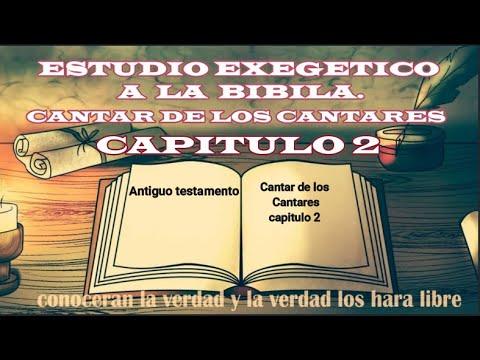 ESTUDIO BÍBLICO: CANTARES CAPITULO 2 (atravez de la biblia)