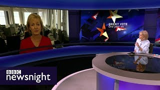Andrea Leadsom on Brexit - BBC Newsnight