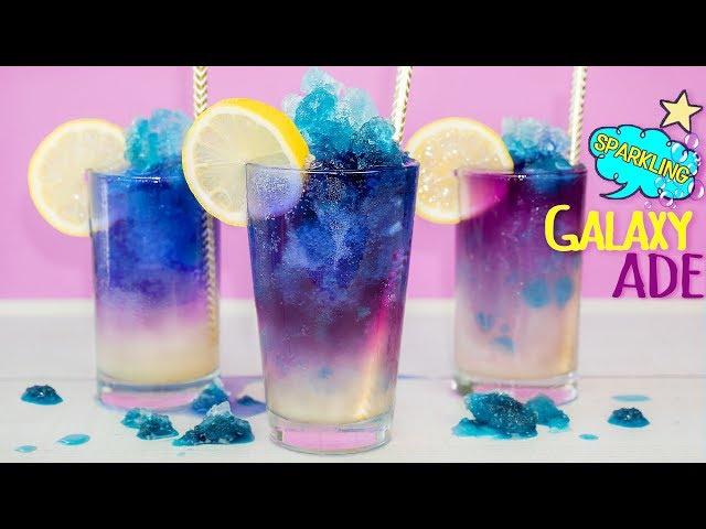 신비한 마법음료★ 색이 변해요! 갤럭시 에이드 만들기♥ - 더스쿱 Galaxy aid  ギャラクシーエイド