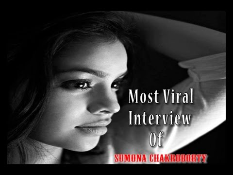Most viral interview of Sumona Chakraborty