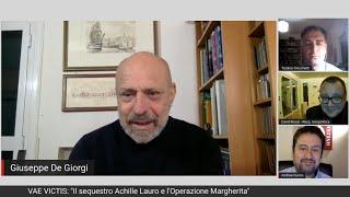 """VAE VICTIS: """"Il sequestro Achille Lauro e l'Operazione Margherita"""""""