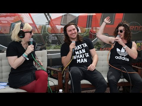 Kat Corbett Interviews Peking Duk at the KROQ Coachella House