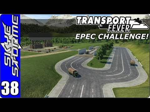 Transport Fever - EPEC Challenge Ep 38 - CONSTRUCTION MATERIALS!