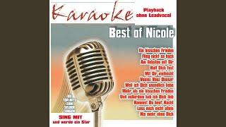 Kommst Du heut Nacht (Karaoke)