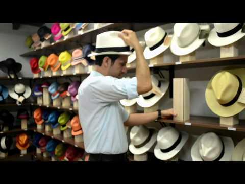 Panama Hat care video
