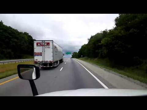 BigRigTravels LIVE! Fort Chiswell to Mount Jackson, Virginia Interstate 81 North July 29, 2017
