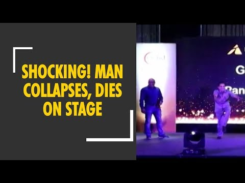 Agra: Man collapses, dies on stage while dancing