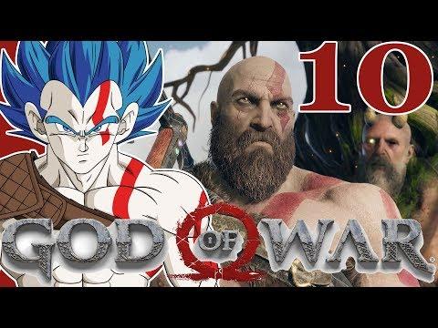 """""""THE TALKING TREE"""" Vegeta Plays GOD OF WAR - Part 10"""