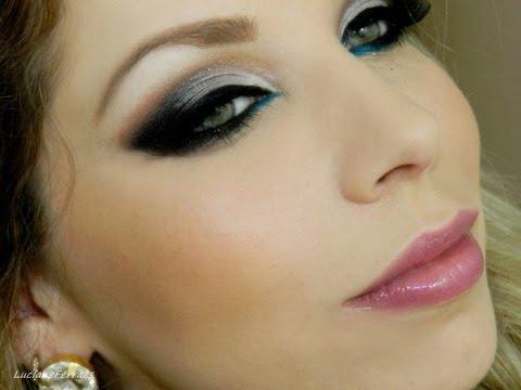 Maquiagem para vestido azul royal passo a passo