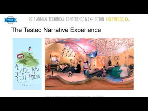 SMPTE 2017: An Immersive Narrative Experience Tested with Variant Levels of Immersion