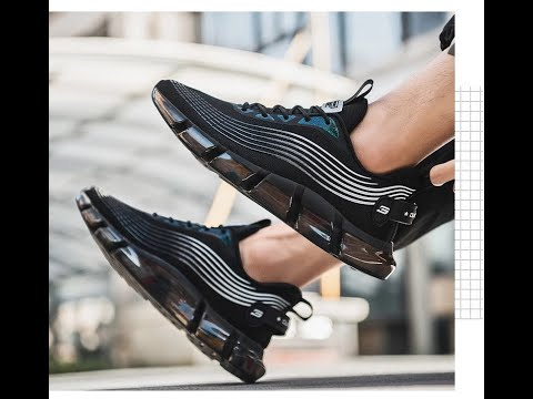 2020 Men Running High Quality Fashion Knitted Sport Shoes