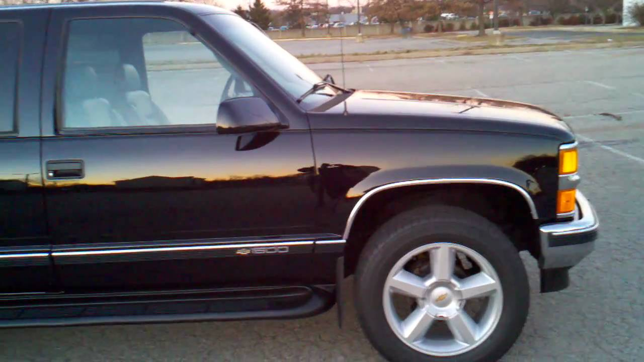 Chevy Tahoe Lt >> 1996 Tahoe Super Chevy (2) - YouTube