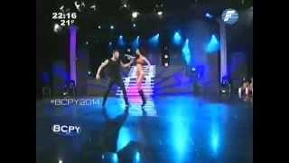 David y Guada bailan #Cuarteto #BCPY2014 - 19-08-2014.