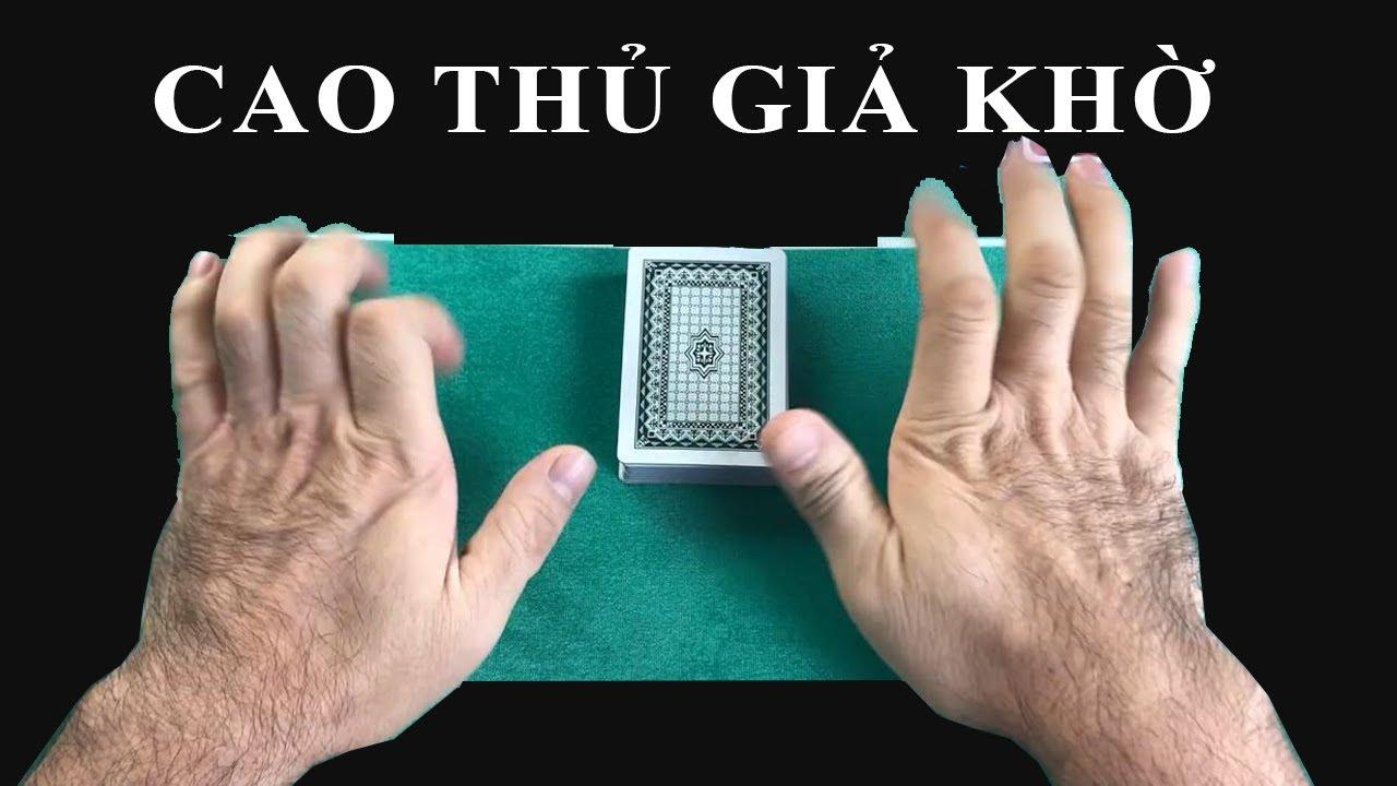 Cao thủ GIẢ KHỜ khi đánh bài nhưng thật chất là ĐẠI CAO THỦ BÀI LÁ | PokerTuan