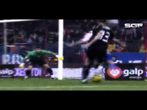 Sergio Aguero   Goals Skills 2010 2011 Atletico Madrid