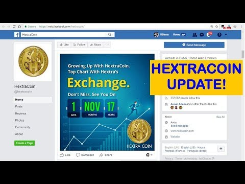 HEXTRACOIN UPDATE! GoldReward First ICO round up!