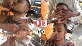 perfect shave rain asmr indian street barber episode 4