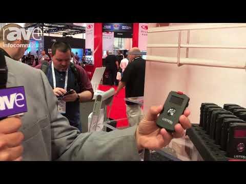 InfoComm 2018: Listen Technologies Showcases ListenTALK Wireless Two-Way Communication System