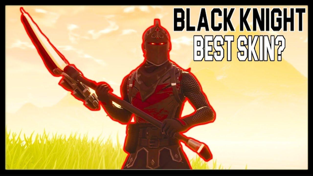 BEST SKIN IN FORTNITE: BLACK KNIGHT? (#1) - YouTube