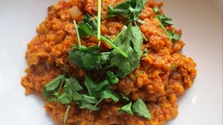 Coconut & Red Lentil Dhal