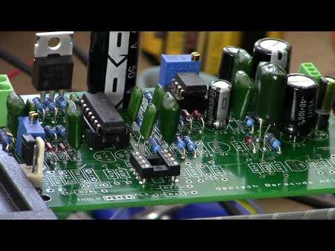 Geotech Baracuda Pulsinduktions Metalldetektor Platine PCB