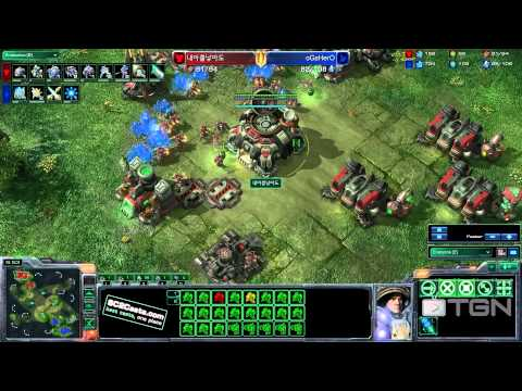 ★ StarCraft 2 - LiquidHero Vs Mystery Terran - TGN