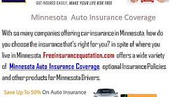 Minnesota Auto Insurance Company - Minnesota Auto Insurance Quote