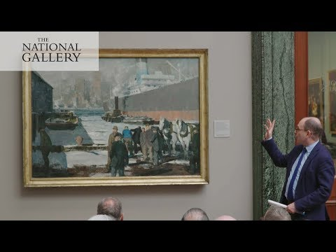 George Bellows's 'Men of the Docks' | The History of the National Gallery in Six Paintings
