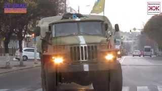 В Житомир вернулся 13-й батальон 95 бригады
