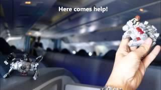 Air Canada Ac 889 London Heathrow To Ottawa, Canada International Business Class Ver 1