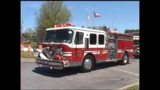 2014 Southern Maryland Volunteer Firemans Association Convention Parade