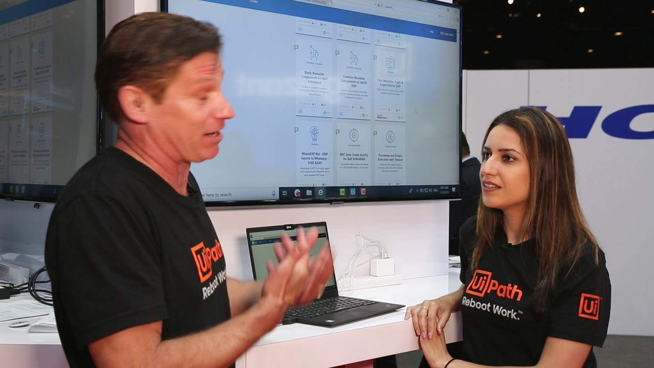 Automating SAP BAPI and More with UiPath Go! #SAPPHIRENOW Highlights