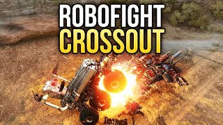 Crossout Robofight: МОГУЧИЙ СГИБАТЕЛЬ vs СЛОНИК!