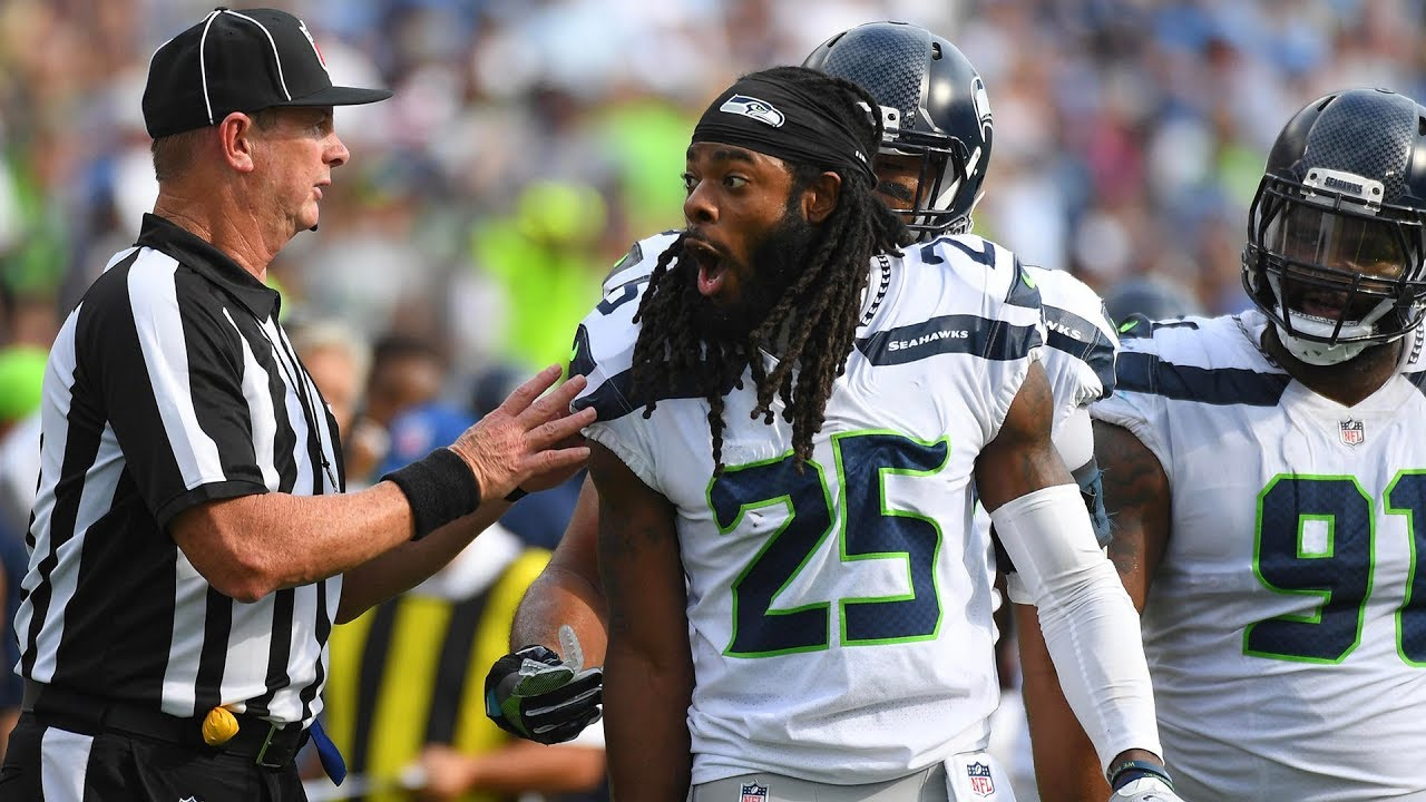Happy Nfl Players: NFL Players Aren't Happy About The New Targeting Rule