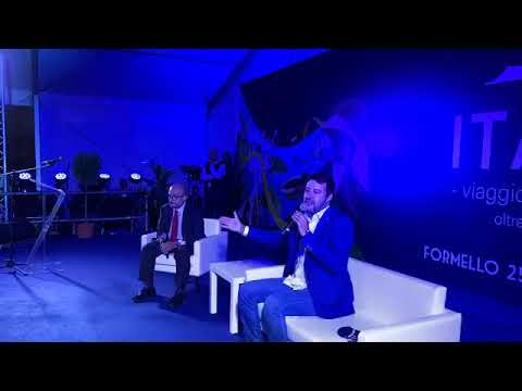 "Salvini da Formello (Roma) all'evento ""ITACA20.20"" (25.09.20)"