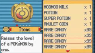 Pokemon Light Platinum - UNLIMITED Rare Candy