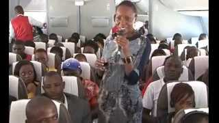 Kenya Airways B-787 demo Flight 1